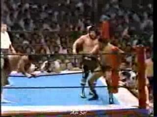 Masa Saito, Riki Choshu vs. Tatsumi Fujinami, Antonio Inoki (1984 Osaka)