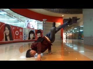 #3 #dance І Bboy Serg  Bboy Sula (SEVEN KZ CREW) Талдыкорган 2015 video №2