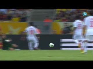 Four-goal brace from torres over tahiti on maracana. spain 10 tahiti 0 (20-06-13) tele 5
