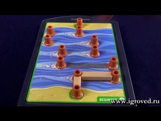 Опасная переправа. Обзор настольной игры-головоломки от Игроведа