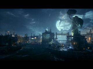 Batman Arkham Knight - Rain at the Moonlight 1080p