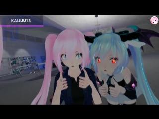 VR chat Anime meme