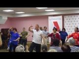 Встреча с китайцами, песни, танцы, хороводы.14.06.18