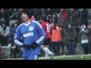 [Fancam] 김현중(Kim Hyun Joong) 110228 Charity Football Match@Samyuk uni