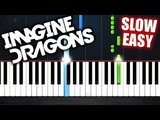 Imagine Dragons - Whatever It Takes - SLOW EASY Piano Tutorial by PlutaX