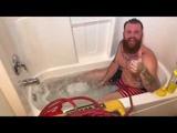 How to take a bath LIKE A MAN