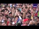 Болельщики в Москве смотрят матч между Ираном и Испанией