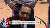 Woj David Fizdale named head coach of the New York Knicks NBA Countdown ESPN