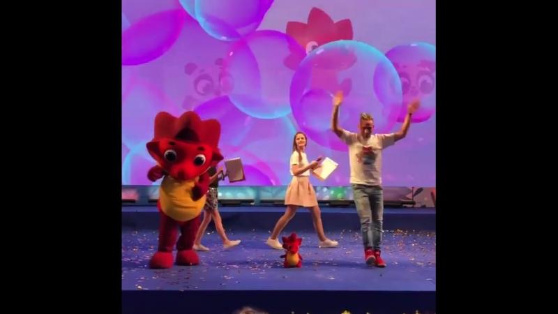 Дракоша Тоша и его самый дракошный танец на фестивале Мультимир