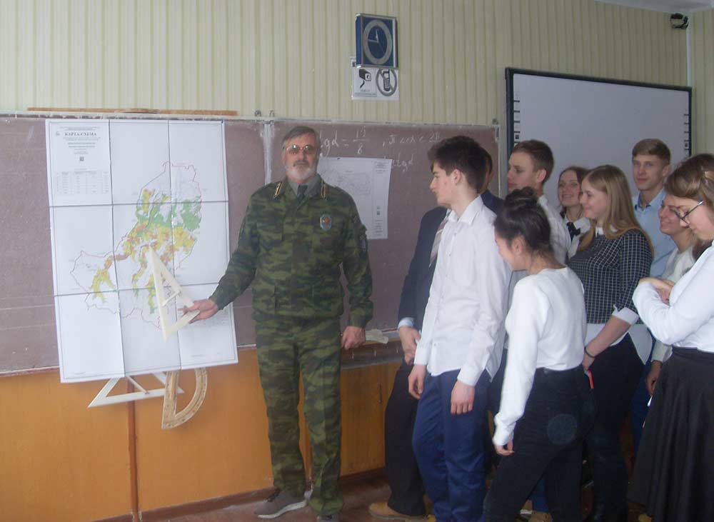 Школьникам Зеленчукского района рассказали о том, как необходимо вести себя в лесу