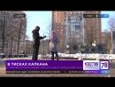 В Павловском парке неизвестные расставили капканы для собак