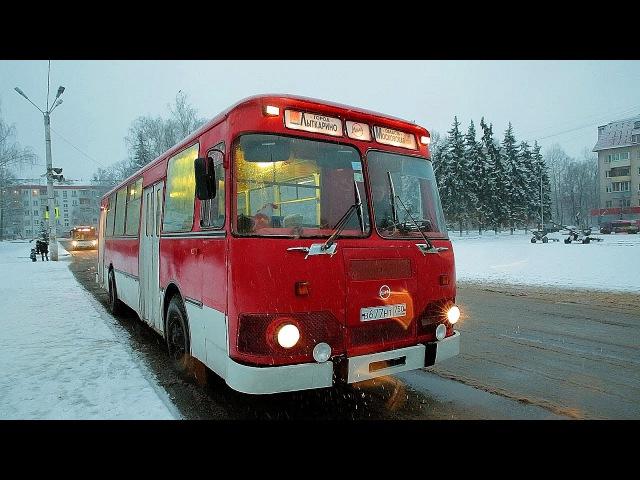 ЛиАЗ 677М ЛЕГЕНДАРНЫЙ АВТОБУС THE MOST POPULAR RUSSIAN BUS