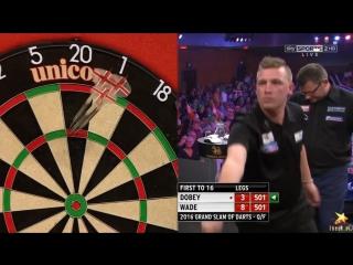 Chris Dobey vs James Wade (Grand Slam of Darts 2016 / Quarter Final)