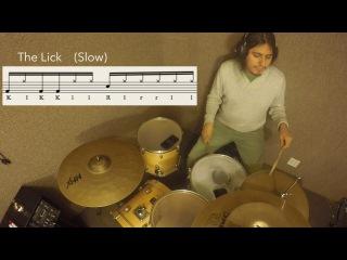 Kick Snare Hat #27 - Paradiddlediddle variation KlKKll