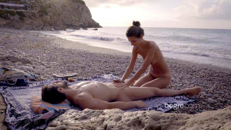 Hegre-Art - Charlotta - Tantric Beach Massage (18+) [эротика, порно, porno, XXX, Erotic, HD]