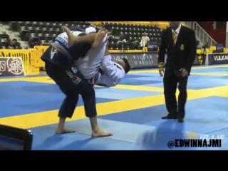 柔術 Flying Triangle Highlight _ Edwin Najmi