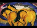 Franz Marc _ German painter and printmaker ,Expressionism