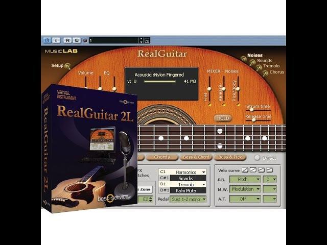 The Realguitar 2L - Test 2 🎹