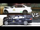 2017 BMW 5 Series Vs 2017 Mercedes E-Class - Crash Test
