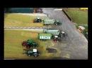 Maisernte - Maishäckseln Silieren - 2 Häckslerketten 10 Schlepper-Biogasanlage Ebstorf-Maize harvest