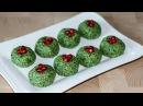 ПХАЛИ ИЗ ШПИНАТА по грузински ○ Грузинская Кухня ○ Georgian Phali Spinach Young Cabbage