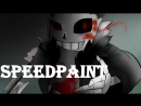 Horrortale Sans Speedpaint Undy'sWork