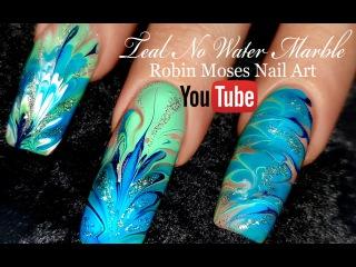 No Water Needed - MINT MANI Diva DIY Drag Marble nail art Tutorial