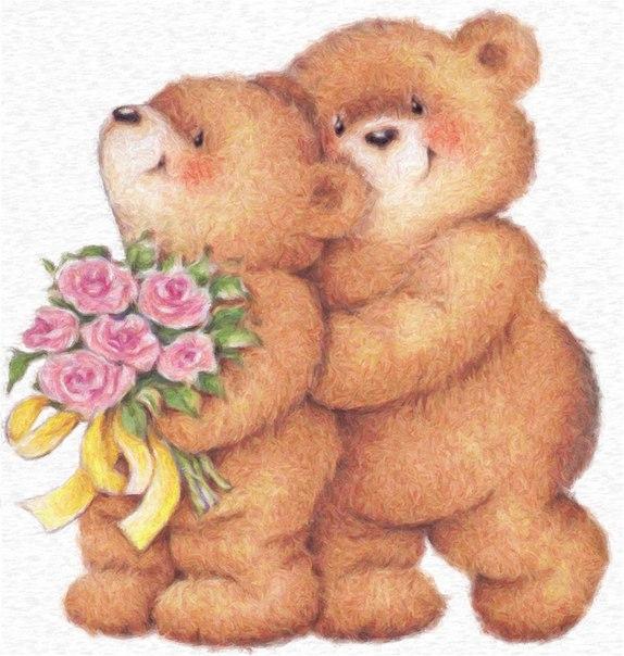 Открытки для тебя с медвежатами