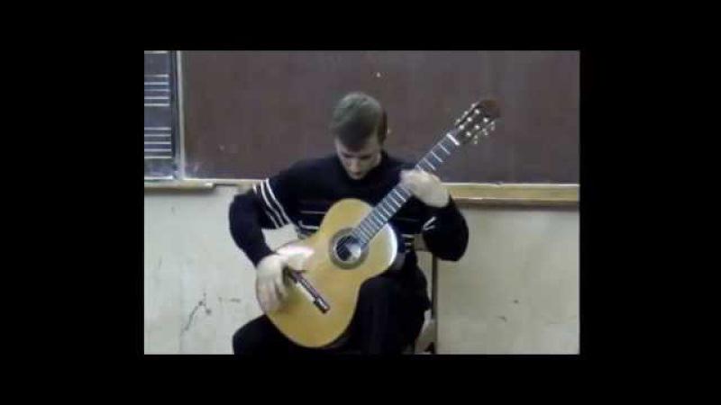 Уроки гитары Харьков. Н. Кошкин. Игра в солдатики (из Сюиты Игрушки принца)