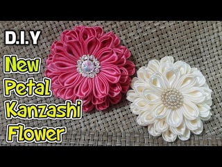 New Petal Kanzashi Flower | MyInDulzens