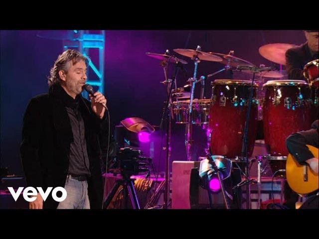 Andrea Bocelli Porque Tu Me Acostumbraste Live From Lake Las Vegas Resort USA 2006
