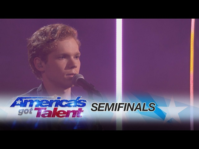 Chase Goehring Incredible Singer Performs Original Song America's Got Talent 2017 смотреть онлайн без регистрации