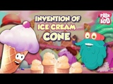 INVENTION OF ICE CREAM CONES - The Dr. Binocs Show Best Learning Videos For Kids Peekaboo Kidz