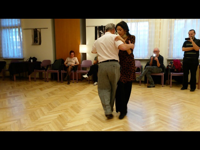 Class of Tango Canyengue in MOCCA Karintia