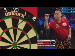Phil Taylor vs Peter Wright (PDC German Darts Masters 2017 / Final)