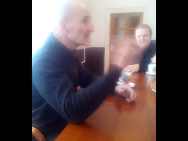 Пётр Мамонов в реабилитационном центре Ручей