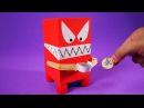 Cofrinho monstro que come moedas? Aprenda a fazer um e se surpreenda!
