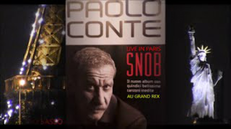 PAOLO CONTE L'INTEGRALE DU LIVE IN PARIS AU GRAND REX LE 27 JANVIER 2015