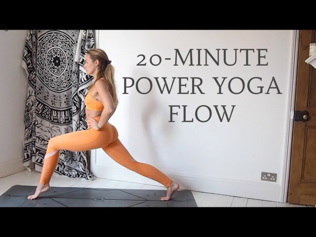 20 MINUTE POWER YOGA FLOW Intermediate Level CAT MEFFAN