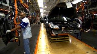 Так собирают Ваш Форд Фокус 3 в США // Assembling your Ford Focus 3 in USA