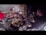 HEAVEN SHALL BURN@Counterweight-Chris Bass-live in Czech Republic 2018 (Drum Cam)