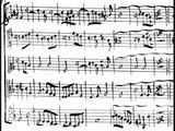Jean-Baptiste Lully (facsimile) - Alcidiane Overture