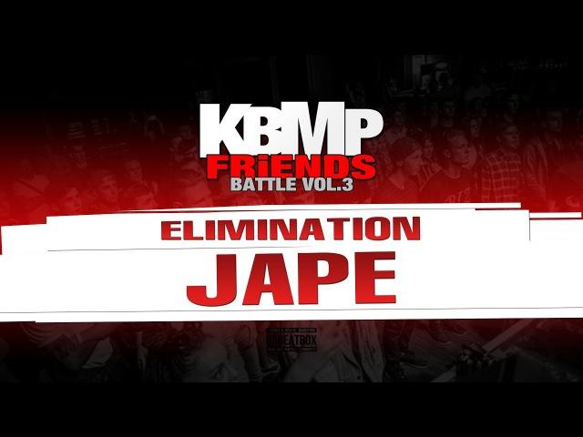 JAPE ELIMINATION KBMP BEATBOX BATTLE 2017