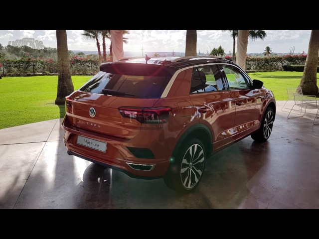 TROC VW T ROC R LINE Exterieur Volkswagen 2018 Sport Style 4Motion Energetic Orange Metallic