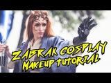 Zabrak Tattoo &amp Makeup Tutorial Star Wars