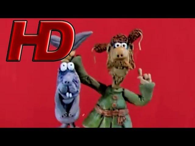 Падал прошлогодний снег в HD качестве 😀🍭😁 1983 Пластилиновый мультик ⭐🍬⭐ Золотая коллекция