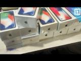 25 новых iPhone X задержали в Шереметьево