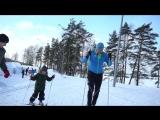 Как встать на лыжи? Первое занятие для ребенка от чемпиона мира   ФизКульт Детский №2