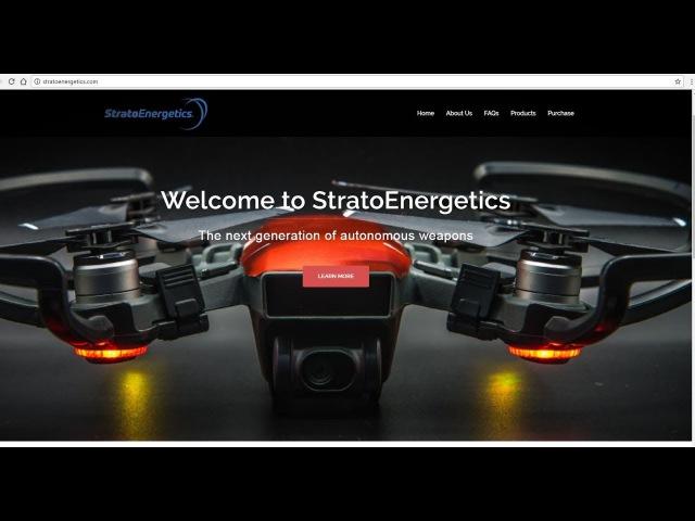 Автономные дроны-убийцы Slaughterbots
