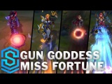 Gun Goddess Miss Fortune Skin Spotlight - Pre-Release - League of Legends